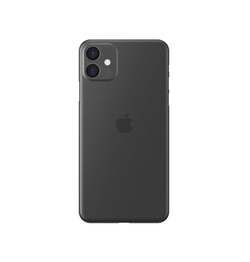 iPhone 11 - Ultratynd Matte Series Cover V.2.0 - Sort - DELUXECOVERS.DK