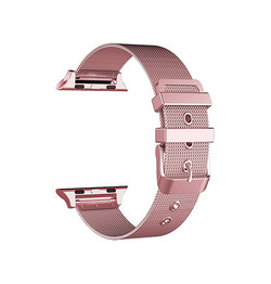 Apple Watch (42-44mm) -  Milanese Original Loop Rem / Urrem - Rose - DELUXECOVERS.DK