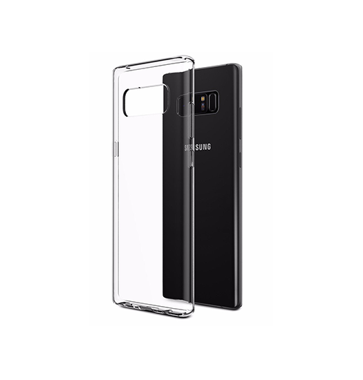 Samsung Note 8 | Note 8 - Original 0.3 Ultra Silikone Cover - Gennemsigtig - DELUXECOVERS.DK
