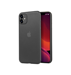 iPhone 11 | iPhone 11 - Ultratynd Matte Series Cover V.2.0 - Sort - DELUXECOVERS.DK