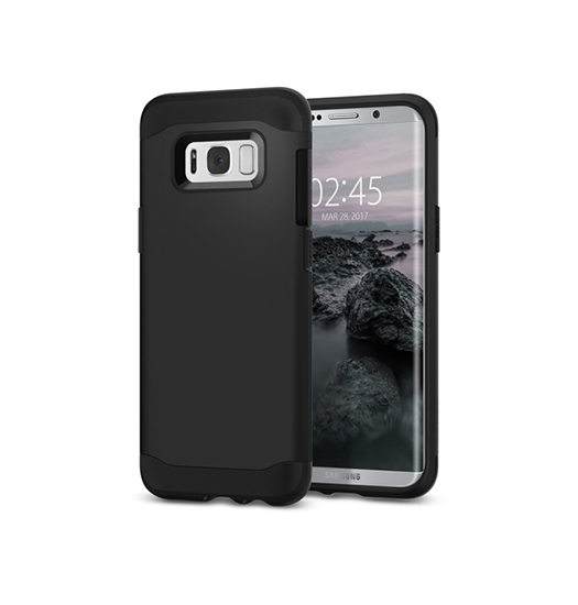 Samsung Galaxy S8+ | Samsung Galaxy S8+ (Plus) - REALIKE Håndværker Cover - Sort - DELUXECOVERS.DK