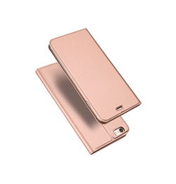 iPhone 6 / 6s | iPhone 6/6s - Vanquish Pro Series Flipcover Etui - RoseGuld - DELUXECOVERS.DK