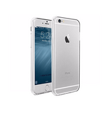iPhone 6/6s - Premium 0.3 Silikone Cover - Gennemsigtig - DELUXECOVERS.DK