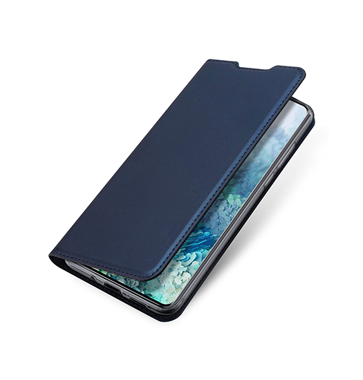 Samsung Galaxy S20 | Samsung Galaxy S20 - Vanquish Pro Series Flipcover Etui - Blå - DELUXECOVERS.DK
