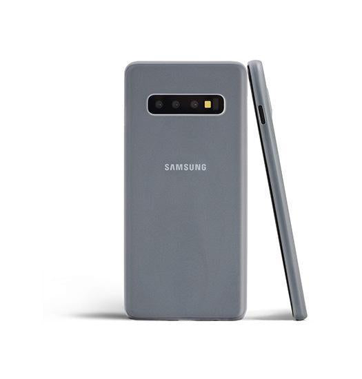Samsung Galaxy S10e | Samsung Galaxy S10e - Matte Ultratynd Cover V.2.0 - Hvid - DELUXECOVERS.DK