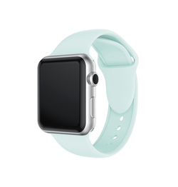 Apple Watch 42mm | Apple Watch (42-44mm) -  PRO+ Silikone Sportsrem - Turquoise - DELUXECOVERS.DK