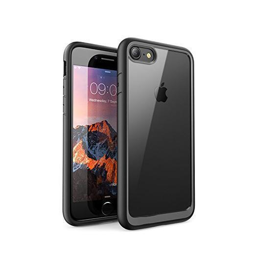 iPhone 7 / 8 | iPhone 7/8/SE - Deluxe NovaShield Smart Cover - Sort - DELUXECOVERS.DK