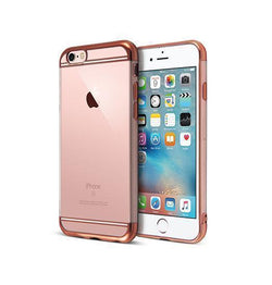 iPhone 6 / 6s | iPhone 6/6s - Valkyrie Ultra-Thin Back Cover - Rose Guld - DELUXECOVERS.DK