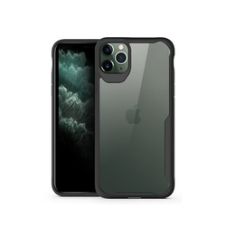 iPhone 11 Pro | iPhone 11 Pro - ImpactShield Hybrid Håndværker Cover - Sort - DELUXECOVERS.DK