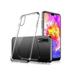 Huawei P20 | Huawei P20 - Valkyrie Slim Silikone Hybrid Cover - Sort - DELUXECOVERS.DK