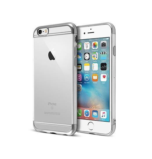 iPhone 6 / 6s | iPhone 6/6s - Valkyrie Ultra-Thin Back Cover - Sølv - DELUXECOVERS.DK