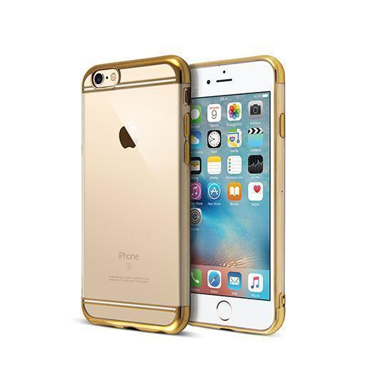 iPhone 6 / 6s | iPhone 6/6s - Valkyrie Ultra-Thin Back Cover - Guld - DELUXECOVERS.DK