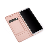 Samsung Galaxy S8+ | Samsung Galaxy S8+ - NX Læder Flipcover Etui - Rosa Gold - DELUXECOVERS.DK