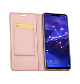 Huawei P20 Pro | Huawei P20 Pro - Vanquish Pro Series Flipcover Etui - RoseGuld - DELUXECOVERS.DK