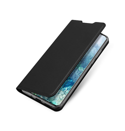 Samsung Galaxy S20 | Samsung Galaxy S20 - Vanquish Pro Series Flipcover Etui - Sort - DELUXECOVERS.DK