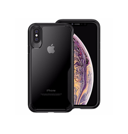 iPhone XS Max - ImpactShield Hybrid Håndværker Cover - Sort - DELUXECOVERS.DK