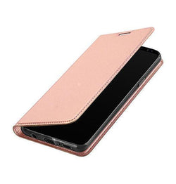 Samsung Galaxy S9+ | Samsung Galaxy S9+ - NX Læder Flipcover Etui - Rosa Gold - DELUXECOVERS.DK
