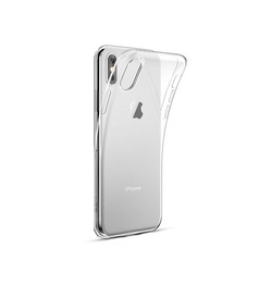 iPhone X/Xs - DeLX™ Ultra-Slim Silikone Cover - Gennemsigtig - DELUXECOVERS.DK