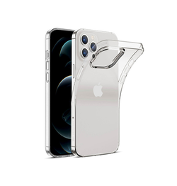iPhone 12 Pro - DeLX™ Ultra Silikone Cover - Gennemsigtig - DELUXECOVERS.DK
