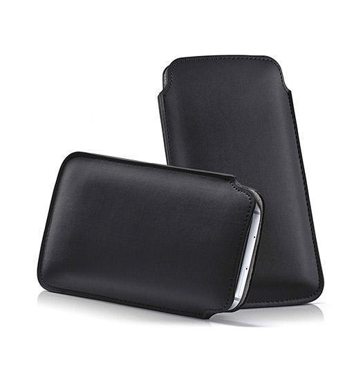 Samsung Galaxy S10 - Infinity Push-Up Lomme Etui V.2.0 - Sort - DELUXECOVERS.DK