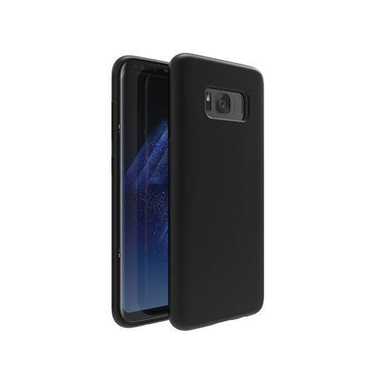 Samsung Galaxy S8+ | Samsung Galaxy S8+ (Plus) - TPU Mat Gummi Cover - Sort - DELUXECOVERS.DK