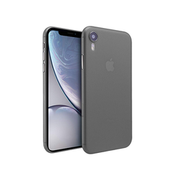 iPhone XR | iPhone XR - Valkyrie Original Ultra-Tynd Cover - Sort - DELUXECOVERS.DK