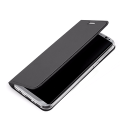 Samsung Galaxy S8+ | Samsung Galaxy S8+ (Plus) - Vanquish Pro Series Flipcover Etui - Sort - DELUXECOVERS.DK