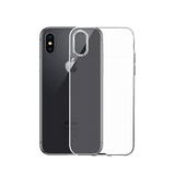 iPhone XS Max | iPhone XS Max - Original 0.3 Silikone Cover - Gennemsigtig - DELUXECOVERS.DK