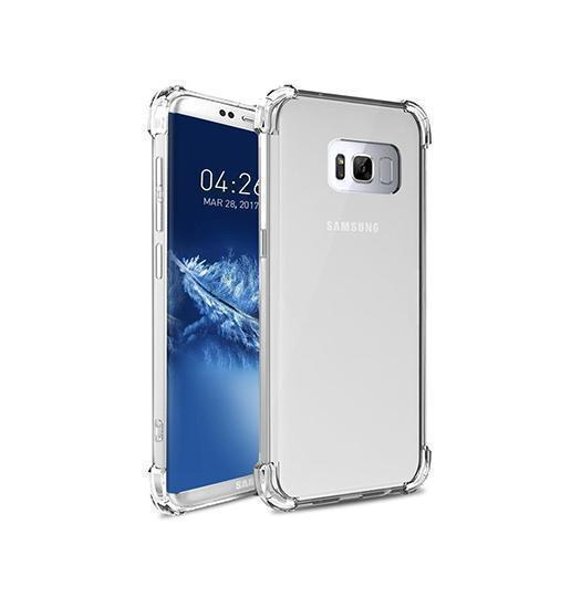 Samsung Galaxy S8 | Samsung Galaxy S8 - Silent Stødsikker Silikone Cover - DELUXECOVERS.DK