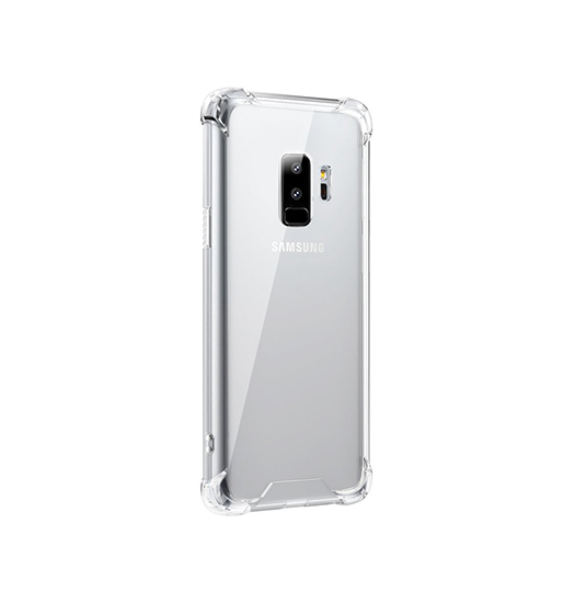 Samsung Galaxy S9+ | Samsung Galaxy S9+ (Plus) - Silent Stødsikker Silikone Cover - DELUXECOVERS.DK