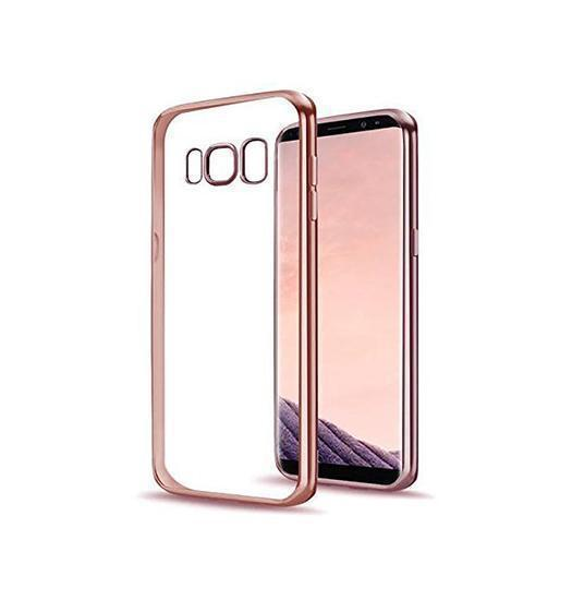 Samsung Galaxy S8 | Samsung Galaxy S8 - Valkyrie Silikone Hybrid Cover - Rose - DELUXECOVERS.DK