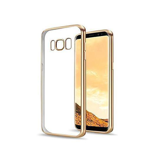 Samsung Galaxy S8+ | Galaxy S8+- Baseus Silikone Hybrid Cover - Guld - DELUXECOVERS.DK