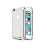 iPhone 6 / 6s | iPhone 6/6s - Silent Stødsikker Silikone Cover - Gennemsigtig - DELUXECOVERS.DK