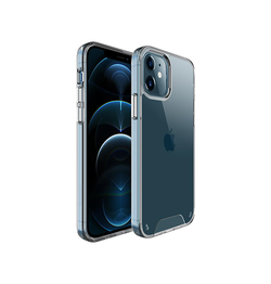 iPhone 12 Mini | iPhone 12 Mini - First-Class Silikone Cover - Gennemsigtig - DELUXECOVERS.DK