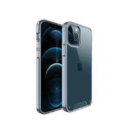 iPhone 12 Pro - First-Class Silikone Cover - Gennemsigtig - DELUXECOVERS.DK
