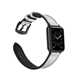 Apple Watch 38mm | Apple Watch (38-40MM) - Deluxe™ Milano Ægte Læder Rem - Hvid - DELUXECOVERS.DK