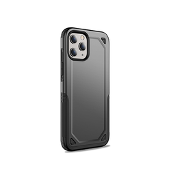 iPhone 12 Pro Max | iPhone 12 Pro Max - REALIKE Pro Armor Håndværker Cover - Sort - DELUXECOVERS.DK