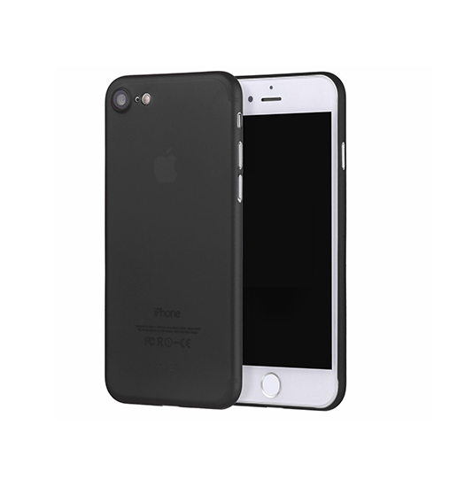 iPhone 7 / 8 | iPhone 7/8/SE Valkyrie Original Ultra Tyndt Cover - Sort - DELUXECOVERS.DK