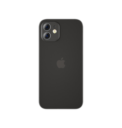 iPhone 12 | iPhone 12 - Ultratynd Matte Series Cover V.2.0 - Sort - DELUXECOVERS.DK