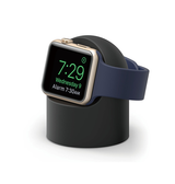Apple Watch Tilbehør | Apple Watch - Night Stand Oplader Stander / Ladedock - Sort - DELUXECOVERS.DK