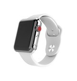 Apple Watch 38mm | Apple Watch (38MM) - Full 360° Silikone Cover - Gennemsigtig - DELUXECOVERS.DK
