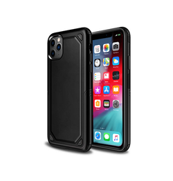 iPhone 11 Pro - REALIKE Pro Armor Håndværker Cover - Sort - DELUXECOVERS.DK