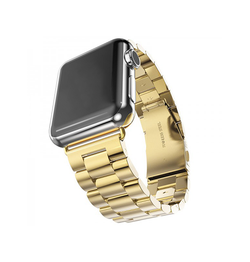 Apple Watch 38mm | Apple Watch (38-40MM) - CNC Pro Rustfrit Stål Urlænke - Guld - DELUXECOVERS.DK