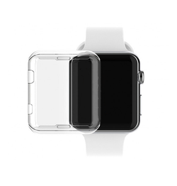 Apple Watch (42MM) - Full 360° Silikone Cover - Gennemsigtig - DELUXECOVERS.DK