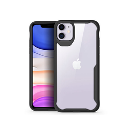 iPhone 11 | iPhone 11 - ImpactShield Hybrid Håndværker Cover - Sort - DELUXECOVERS.DK