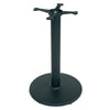 "John Boos 1922B40 Round Restaurant Table Base - Bar Height - 22"" DISC"