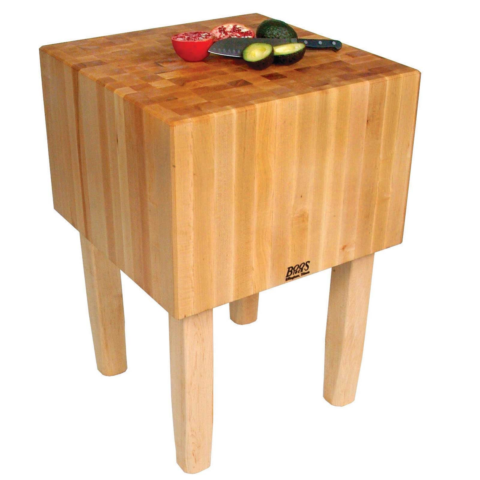 "John Boos 16"" Thick Maple Top AA Butcher Block"
