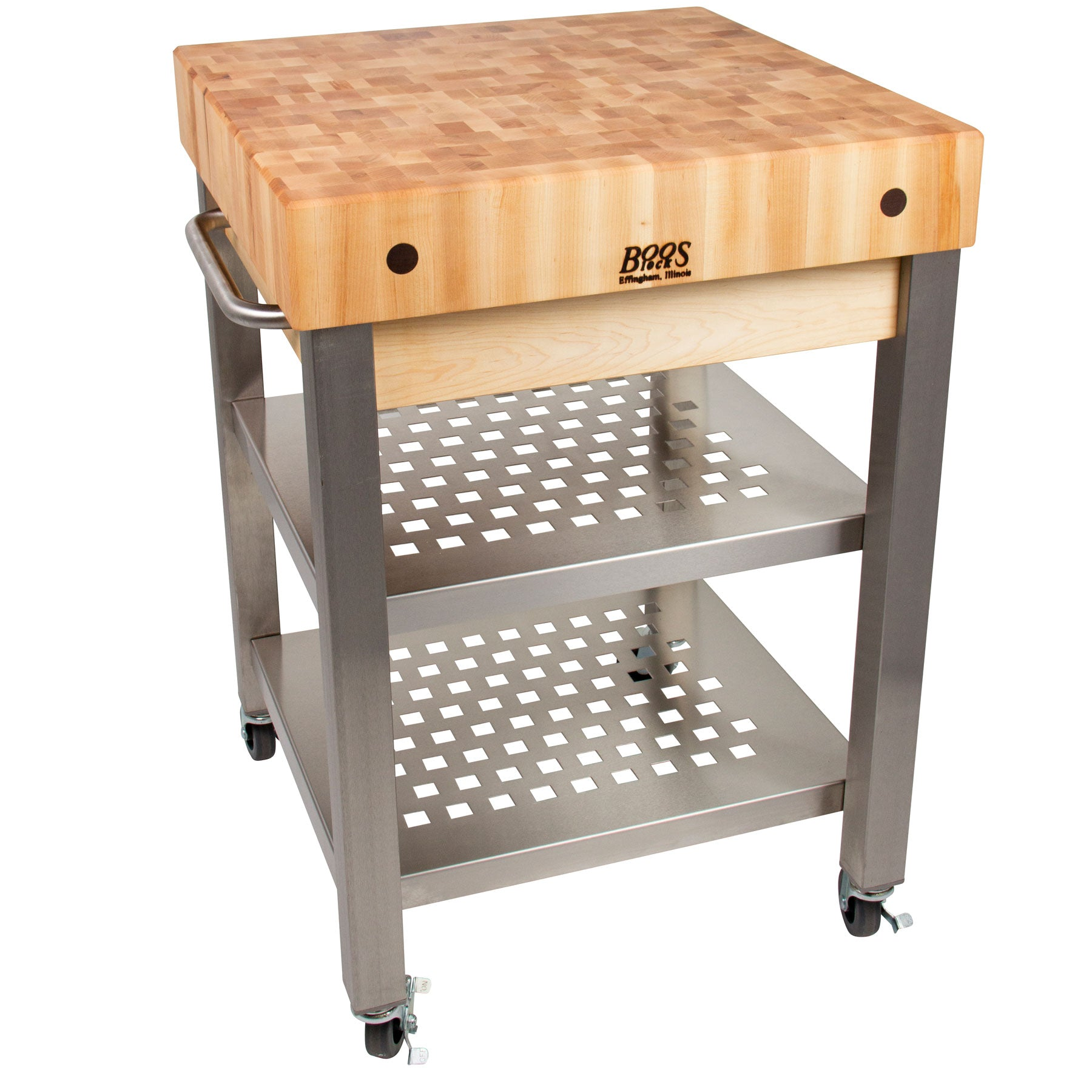 "John Boos 4"" Thick Maple Top Cucina Technica"