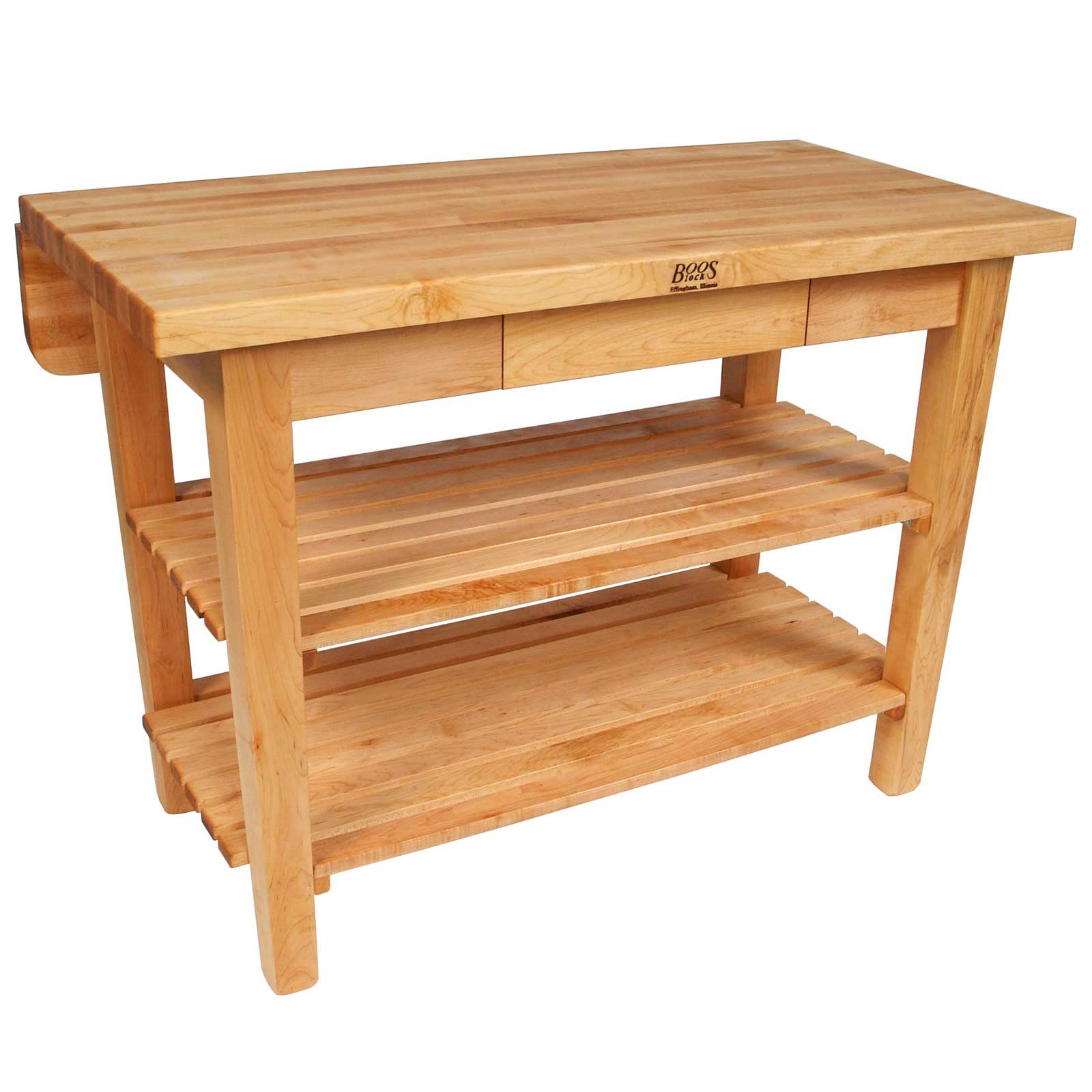 John Boos KIB Maple Top Kitchen Island Bar