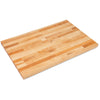 "John Boos SC011-O Maple 1 3/4"" Thick Replacement Top - 48 X 30 X 1.75"
